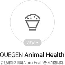 QUEGEN Animal Health 큐젠바이텍의 Animal Health를 소개합니다.